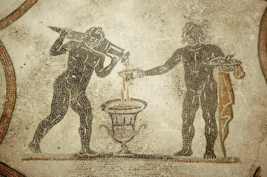 villa dei mosaici