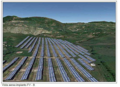 megaimpianto fotovoltaico castelnuovo di farfa