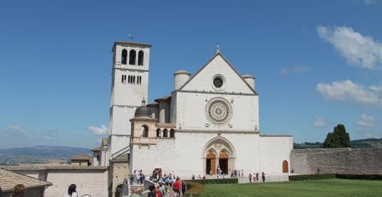 Basilica di San Francesco in Assisi  Il Cammino di San