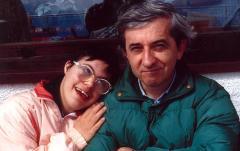 Vittorio e piccola Alessandra