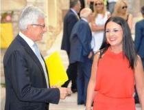 Catia Monacelli, madrina dell'evento