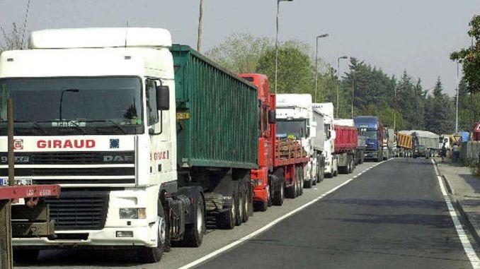 Chiusura Viadotto Puleto, autotrasportatori questa volta non scherzano