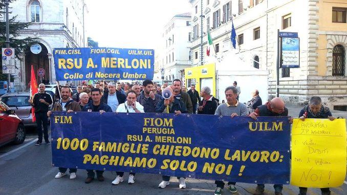 Mobilità per seicento lavoratori della ex-Merloni è grave e inaccettabile