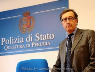 """Questore Gugliotta: """"Perugia non è più la capitale della droga"""""""