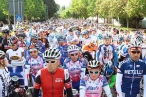 ciclismo partenza