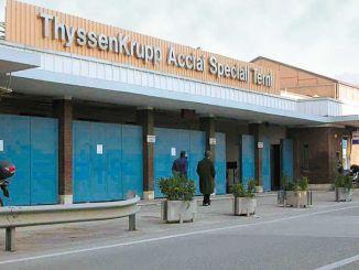 Cassa integrazione acciaierie Terni, da 1200 a 700 lavoratori