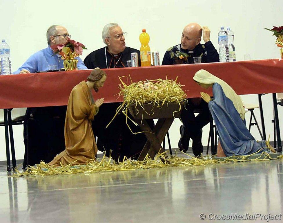 Il Pranzo di Natale del cardinale Gualtiero Bassetti offerto alle detenute del Carcere