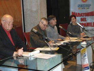 Da sinistra Gianfraco Brugnoni, Domenico Ignozza, Carlo Moscatelli, Cristina Aiello