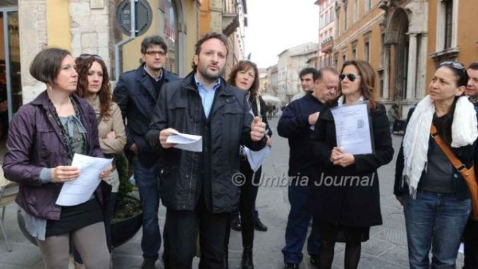Acque minerali svendute in Umbria, blitz M5S in Regione
