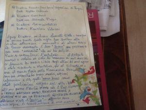 Lettera Stella