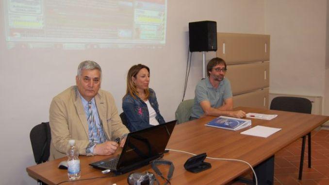Al tavolo il direttore Giampaolo Ceci e i docenti