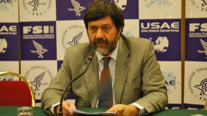 Adamo Bonazzi, segretario generale dell'Fsi