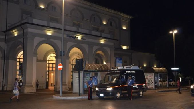 Controlli Carabinieri a Fontivegge, un arresto per rapina