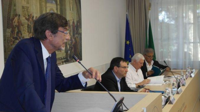 Da sinistra Marco Ambrogi, Alberto Naticchioni, Roberto Segatori, Marcello Nasini