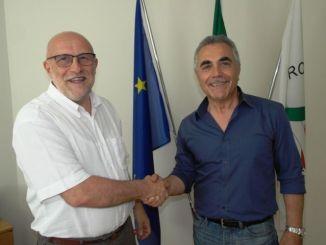 Enzo Tonzani e Alberto Diomede