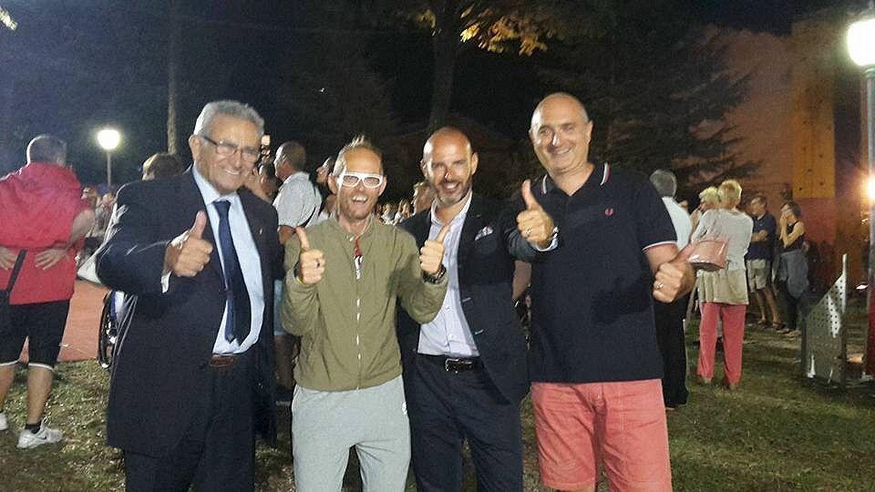 da sx Emanuele, Cenci, Coletti e Bazzucchini