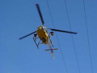 Enel, controlli con elicottero su linee media tensione Umbria