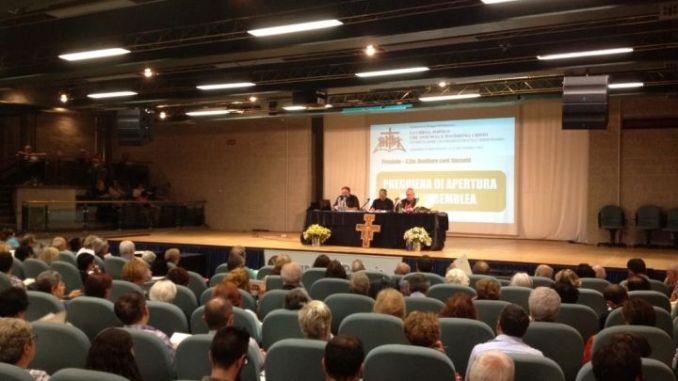Assemblea diocesana a Perugia, cominciati i lavori al Capitini