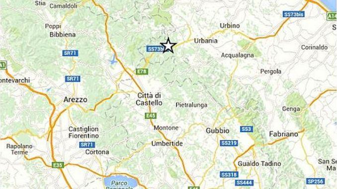 Terremoto avvertito in Umbria, nessun danno, situazione sotto controllo