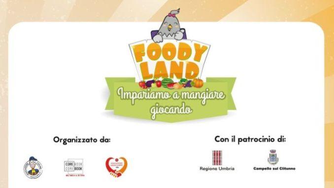 Scatta Foodyland, imparare a mangiare sano, giocando