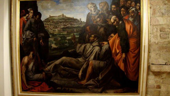 La tela di Cesare Sermei torna a risplendere