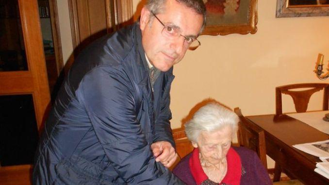 Annetta festeggia il secolo di vita come socia onoraria della Pro Ponte