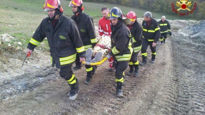 Prova di soccorso nelle gallerie in costruzione a Valfabbrica