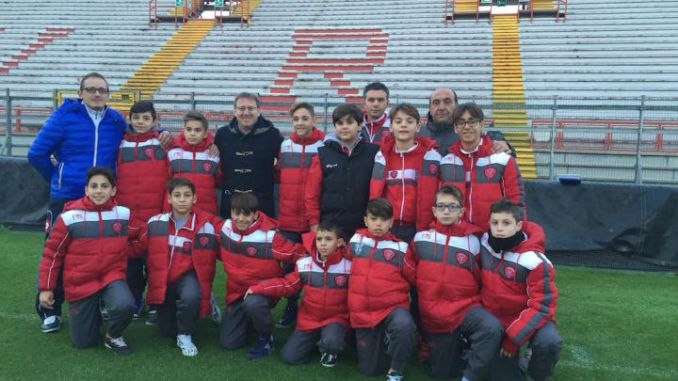 Uniti Per Cerignola è venuta a Perugia per disputare un'amichevole