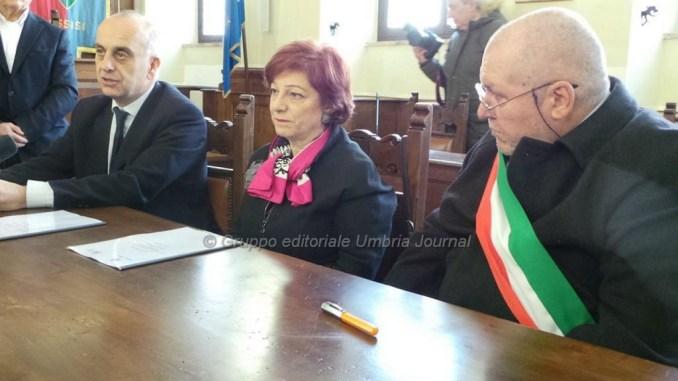 Assisi, infiltrazione criminale, firma protocollo tra comune e prefettura