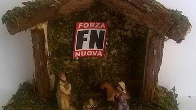 Presepe Forza Nuova Umbria a Perugia, Corciano e ad Assisi per le nostre tradizioni