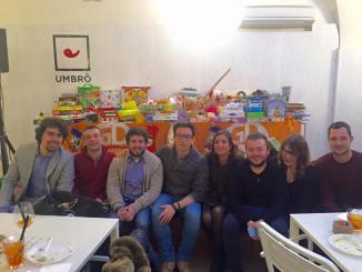 """Giovani Democratici di Perugia, """"Un giocattolo un sorriso"""""""