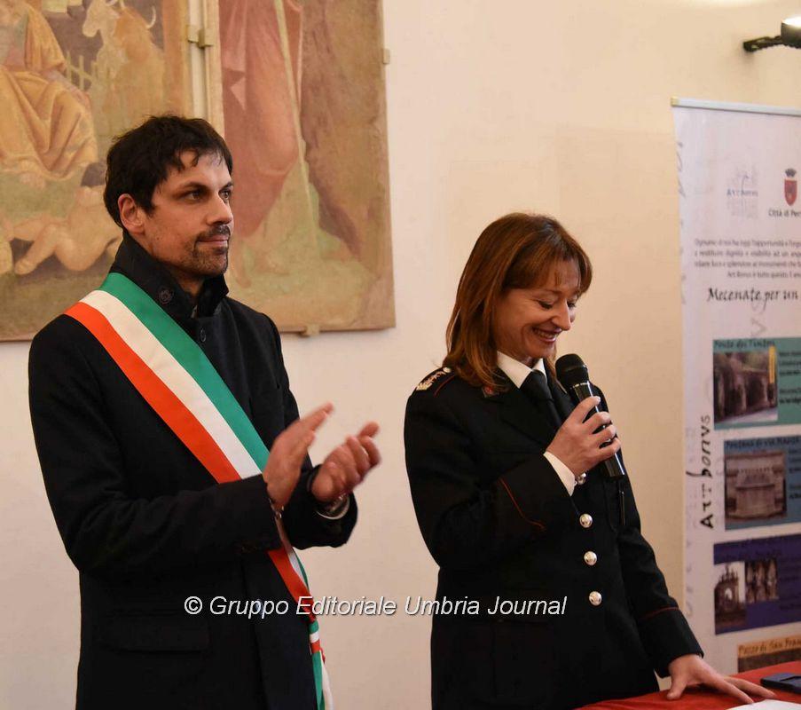 Patrono del corpo della polizia locale a Perugia giovedì 23 gennaio