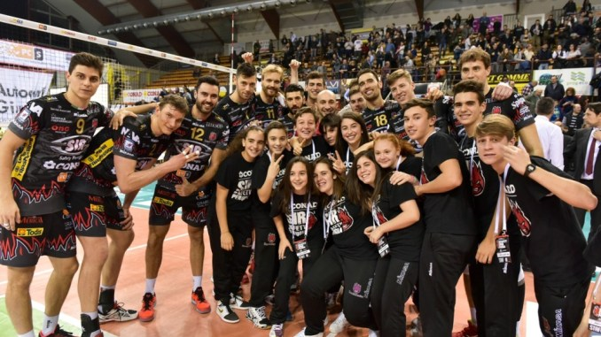 Sir Safety, Perugia vince al Tie Break la battaglia con Ravenna