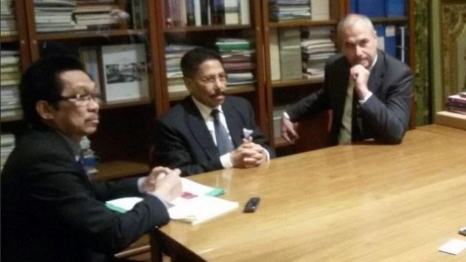 Ambasciatore Repubblica Indonesia visita i luoghi di Eurochocolate
