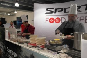 Chef sportage food experience