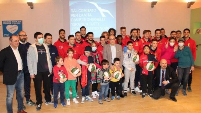 Gubbio Calcio al Residence Chianelli: presto in campo insieme per sostenere la ricerca