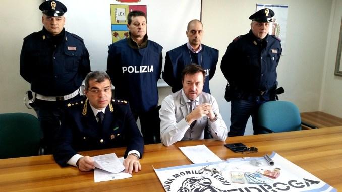 Controlli San Valentino a Terni, 3 arresti e una denuncia