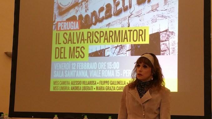 """A Perugia il Tour """"Salva-Risparmiatori"""" del M5s"""
