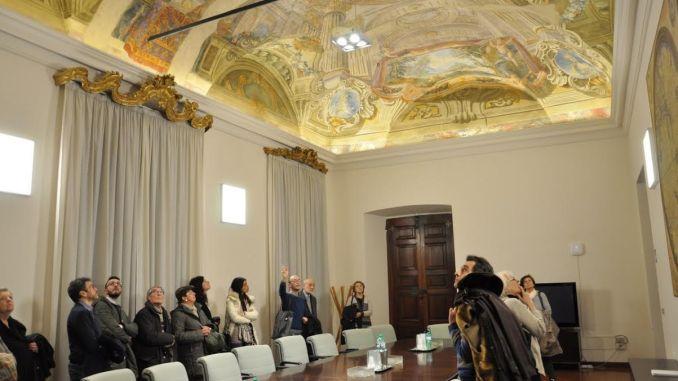 Palazzo Donini a Perugia, visita guidata, erano oltre settanta