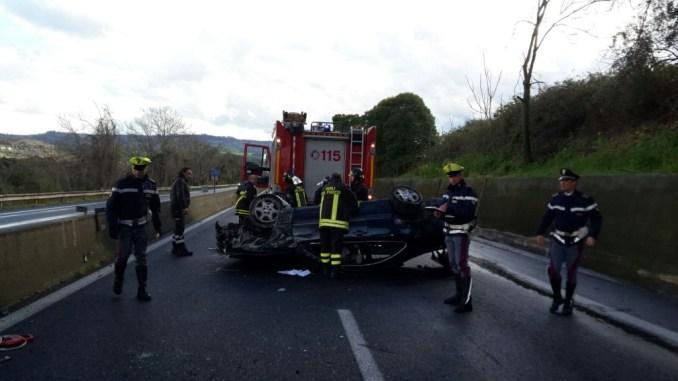 Incidenti stradali in Umbria, nel 2016 incremento oltre 4 per cento rispetto al 2015