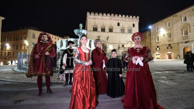 Perugia 1416, incontro con Adolfo Morganti