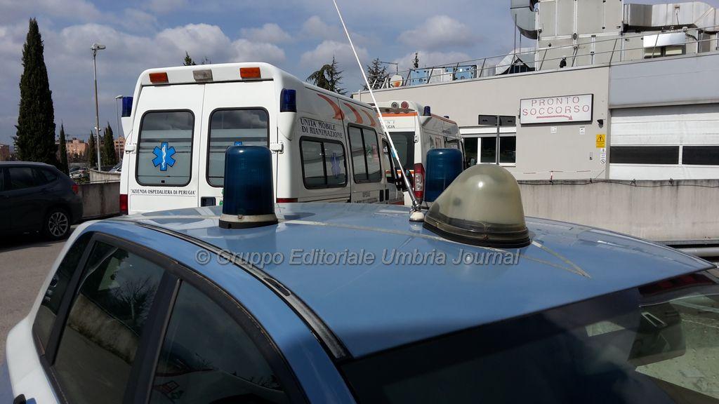 Litiga in ospedale con compagna incinta, arrestato per evasione