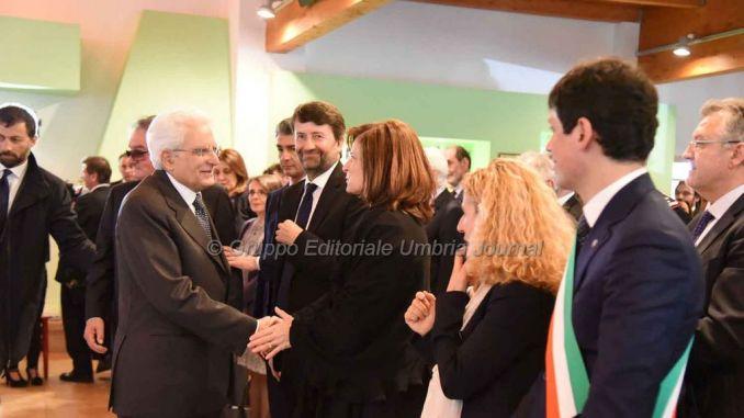Sergio Mattarella ha visitato il residence Chianelli di Perugia