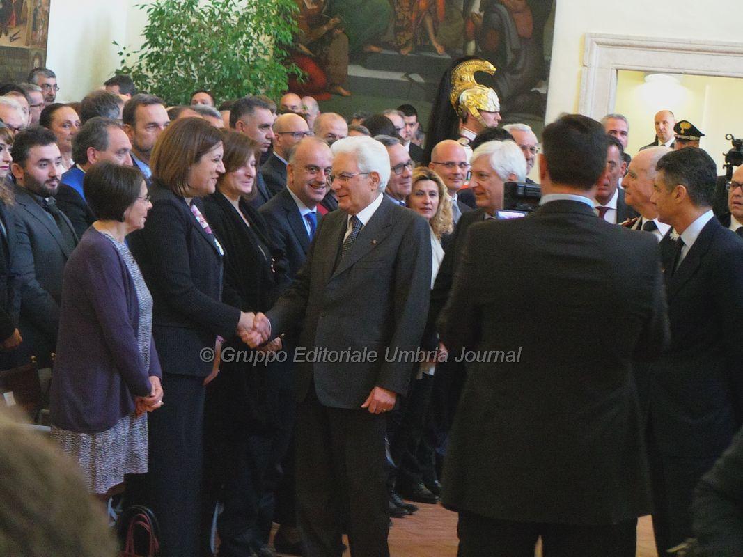 Presidente Sergio Mattarella ha inaugurato Nucleo Carabinieri [FOTO E VIDEO]
