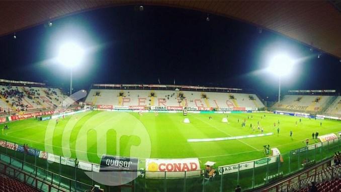 Perugia-Pro Vercelli, finisce con una sconfitta 1-2