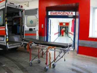Incidente tra auto moto a Palazzo d'Assisi, grave motociclista