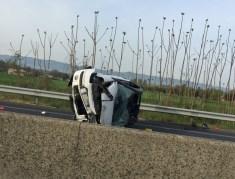 Due incidenti su E45, conducenti con ferite lievi