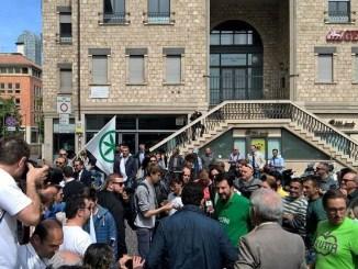 Atto vandalico alla sede Lega Nord Terni, polizia denuncia due persone