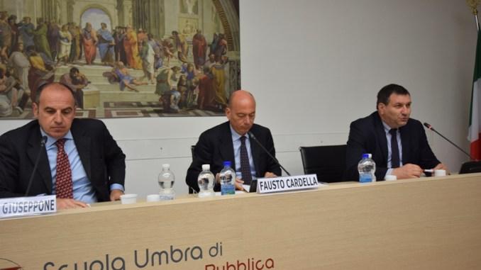 Antonio Giuseppone e Fausto Cardella oggi docenti a Villa Umbra