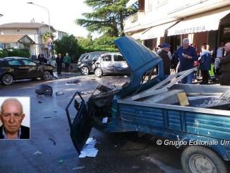 Incidente mortale a Bastiola di Bastia, muore anziano